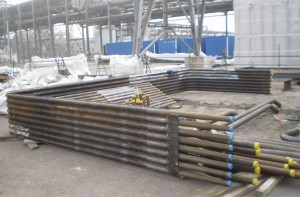 INEOS - Fabricated furnace wall 'D - tube' panels.
