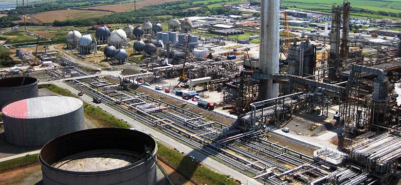 Valero Refinery - Pembroke, South Wales