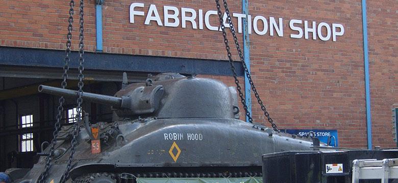 TEi restore World War II tank