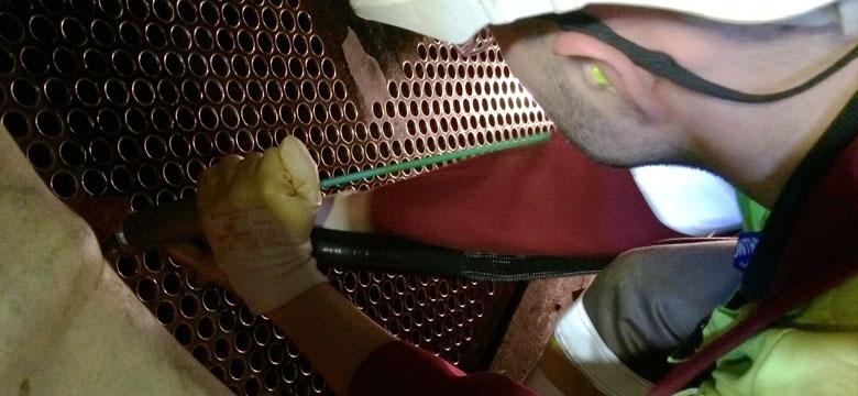 Condenser Tube inspection