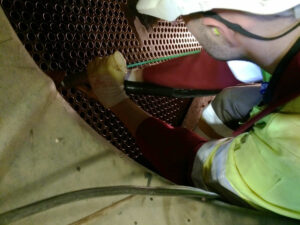 Tube inspection probing