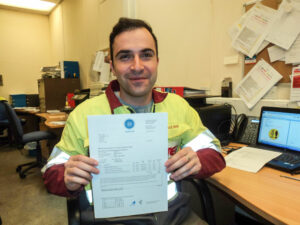 TEi Health and Safety Advisor attains national qualification