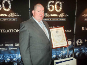Martin Seal, rigger and Representative of Employee Safety for TEi Limited
