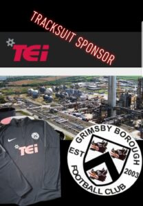 TEI Sponsor Grimsby Borough Football Team